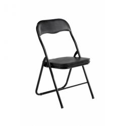 Cadeira Dobrável EVAN Preto