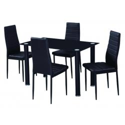 Pack Mesa SHADE e 4 Cadeiras ZARA