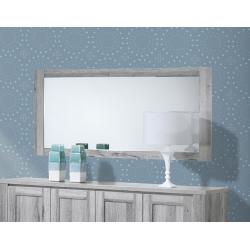 Espelho de Sala FLORENÇA Cinza Rústico