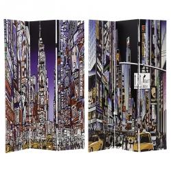 Biombo 3 Folhas New York City