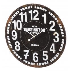 Relógio de Parede MDF Preto