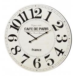 Relógio de Parede MDF Café Paris