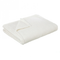 Manta GLITTER Branco 130x170 cm