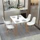 Mesa de Jantar DENVER + 4 Cadeiras DENVER
