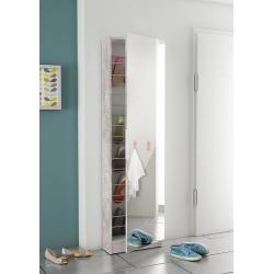 Sapateira 1 Porta com Espelho JOSE Betão