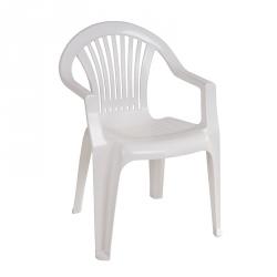 Cadeira Empilhável BRAGA Branco