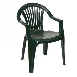 Cadeira Empilhável BRAGA Verde Escuro