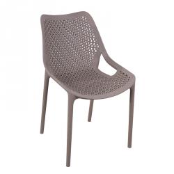 Cadeira Empilhável OXY Taupe