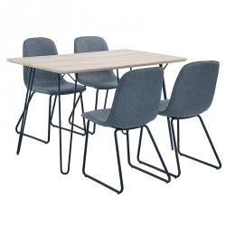 Conjunto Mesa e 4 Cadeiras SUNNY