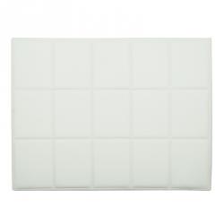 Cabeceira QUADRADOS 160x120cm - Branco
