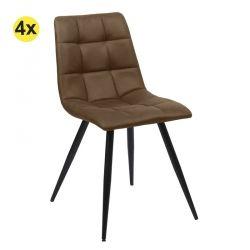 Cadeira de Sala EVEREST Castanho