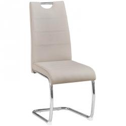 Cadeira de Sala BILBAO Cinza Claro