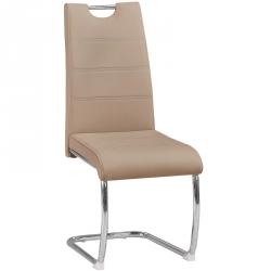 Cadeira de Sala BILBAO PU Taupe