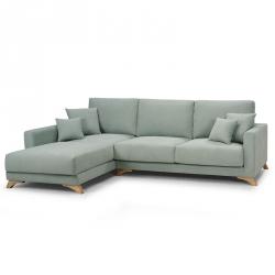 Sofá Chaise Longue Esquerda SOFIA - Nido Verde