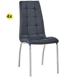 Cadeira de Sala CALLY Preto