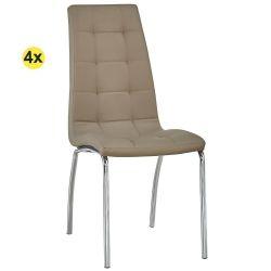 Cadeira de Sala CALLY II Taupe