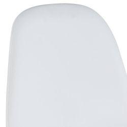Cadeira de Jantar BLEE Branco (Pele Sintética)