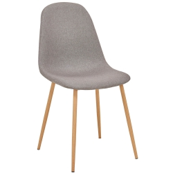 Cadeira de Jantar LEE II Cinza-Taupe