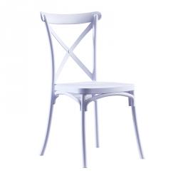 Cadeira de Sala CROSS Branco