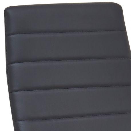 Pack de 6 Cadeiras de Sala ZARA II Preto