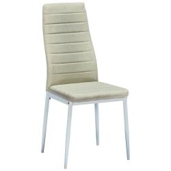 Cadeira de Sala ZARA II Tecido Bege