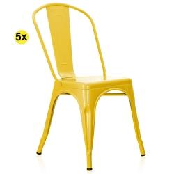 Cadeira de Sala LX Amarelo