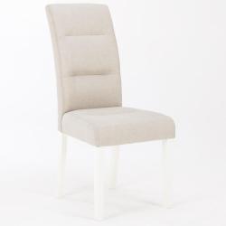 Cadeira de Sala HOUSTON Tecido Bege