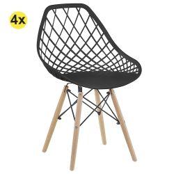 Cadeira de Sala LISA Preto