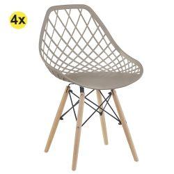 Cadeira de Sala LISA Bege