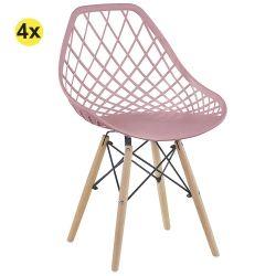 Cadeira de Sala LISA Rosa