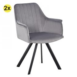 Cadeira de Sala MAFIOSA Cinza