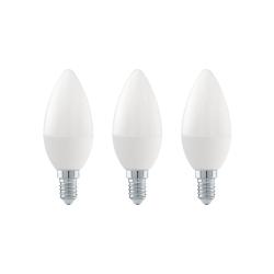 Lâmpada LED E14 Luz Amarela 4W 3000K 10709
