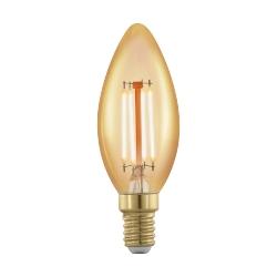 Lâmpada LED E14  Luz Amarela 4W 1700K 11698