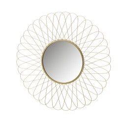 Espelho METAL OURO 56x56 cm