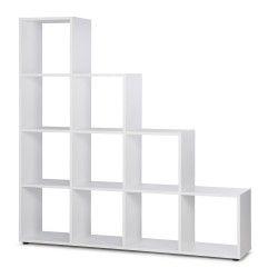 Estante BERGANO 10 Cubos Branco