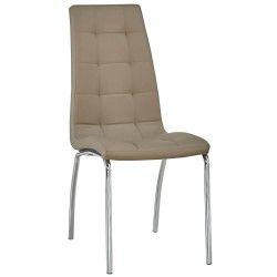 Cadeira de Sala CALLY II Taupe PU