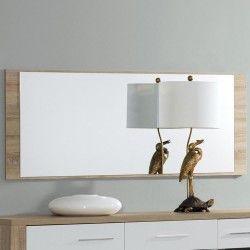 Espelho de Sala PARIS Carvalho Natura