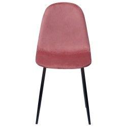 Cadeira de Jantar BLEE Rosa (Veludo)
