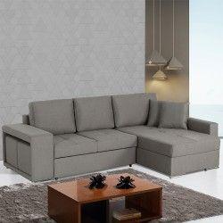 Sofá Chaise Longue reversível com cama KENYA