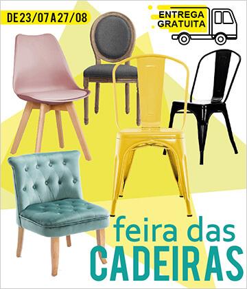 Campanha Feira das Cadeiras na HOMYCASA