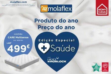 Campanha MOLAFLEX Especial Saúde